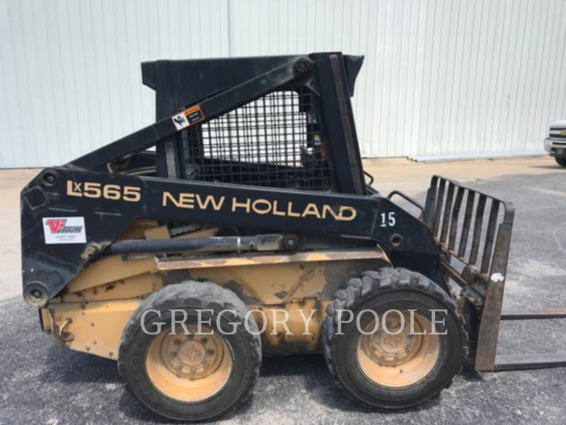 NEW HOLLAND LTD. SKID STEER LOADERS LX565 equipment  photo 5