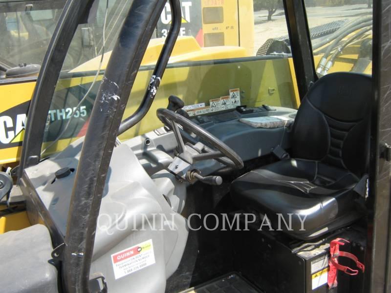 CATERPILLAR TELEHANDLER TH255 equipment  photo 5