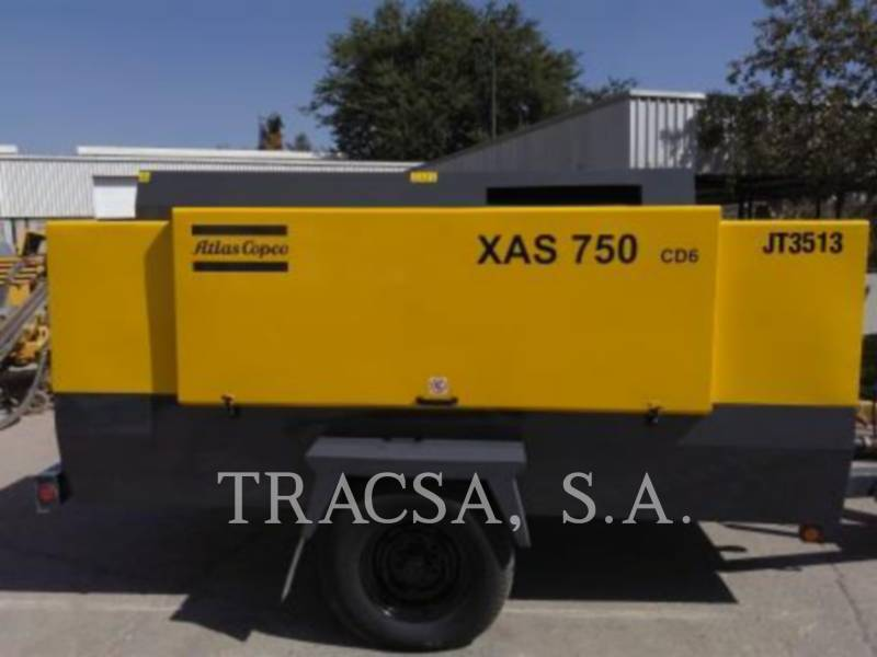 ATLAS-COPCO COMPRESOR DE AIRE XAS750CD equipment  photo 6