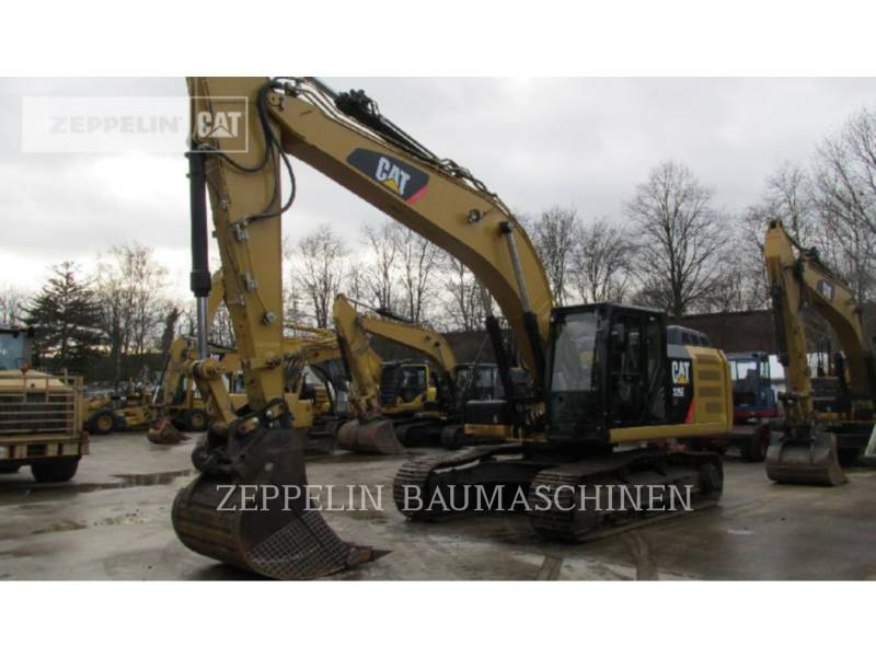 CATERPILLAR TRACK EXCAVATORS 329ELN equipment  photo 1