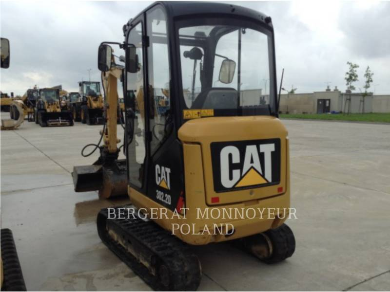 CATERPILLAR ESCAVATORI CINGOLATI 302.2D equipment  photo 10