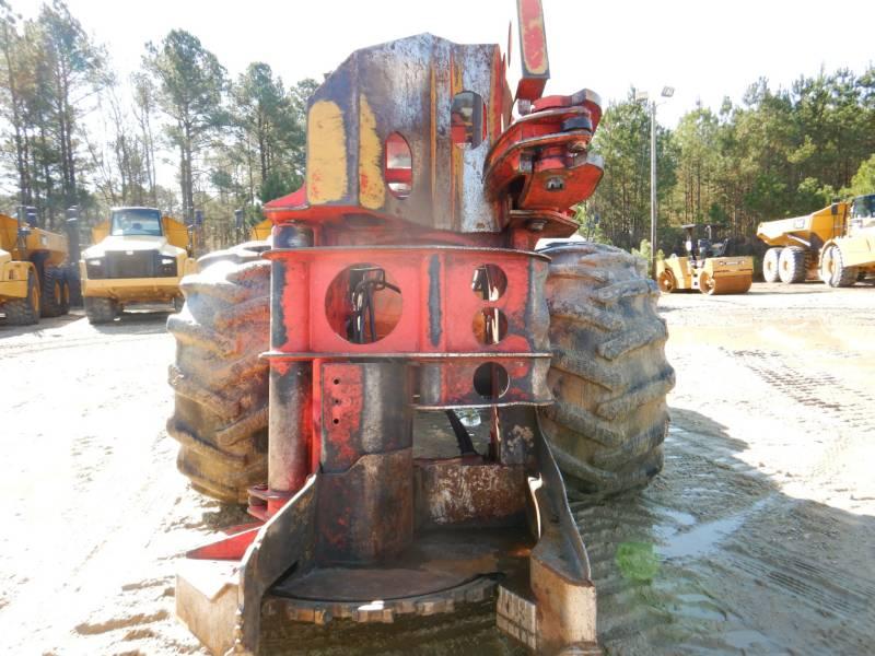 CATERPILLAR FORESTRY - FELLER BUNCHERS - WHEEL 553C equipment  photo 6