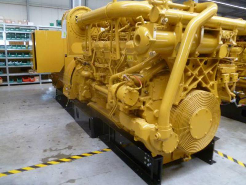 CATERPILLAR STATIONÄRE STROMAGGREGATE 3512B HV11KV equipment  photo 3