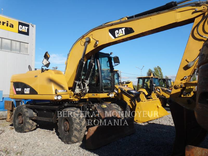 CATERPILLAR PELLES SUR PNEUS M316 D equipment  photo 3