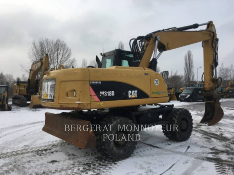 CATERPILLAR MOBILBAGGER M318D equipment  photo 5