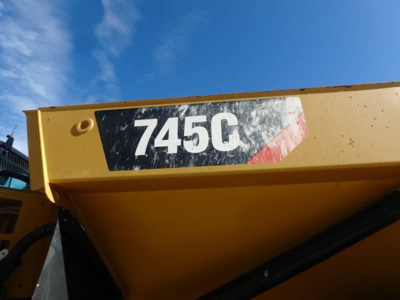 CATERPILLAR ARTICULATED TRUCKS 745C equipment  photo 17