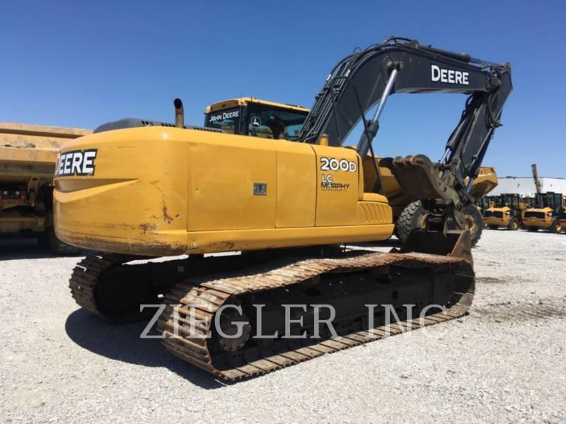DEERE & CO. TRACK EXCAVATORS 200D equipment  photo 2