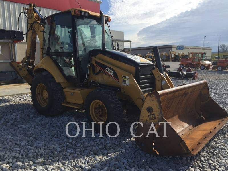 CATERPILLAR BAGGERLADER 420E ST equipment  photo 5