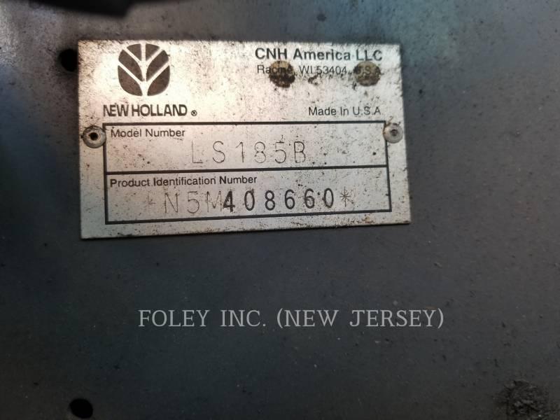 NEW HOLLAND LTD. KOMPAKTLADER LS185B equipment  photo 17