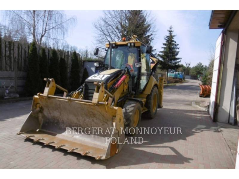 CATERPILLAR CHARGEUSES-PELLETEUSES 428E equipment  photo 6