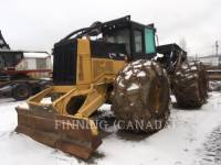 Equipment photo Caterpillar 545C SILVICULTURĂ – EXCAVATOR FORESTIER 1