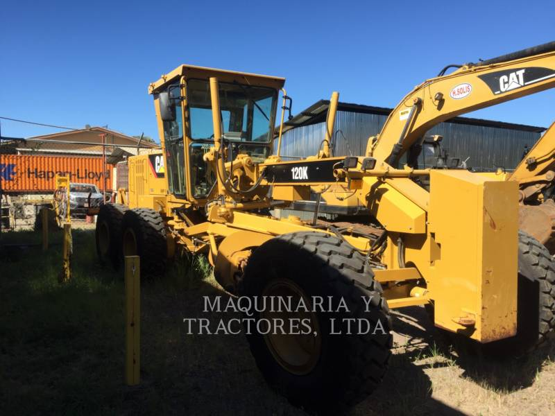 CATERPILLAR MOTOR GRADERS 120 K equipment  photo 3
