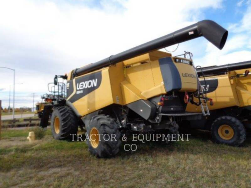 LEXION COMBINE COMBINADOS LX580R equipment  photo 5