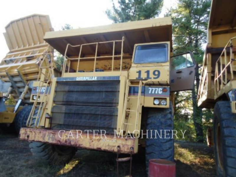 CATERPILLAR MINING OFF HIGHWAY TRUCK 777C equipment  photo 2