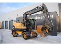 Equipment photo VOLVO EW140C TRACK EXCAVATORS 1