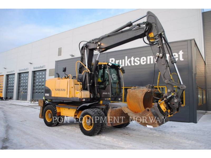 VOLVO PELLES SUR CHAINES EW140C equipment  photo 1