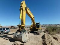 Equipment photo KOMATSU LTD. PC600LC TRACK EXCAVATORS 1