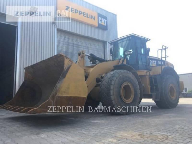 CATERPILLAR RADLADER/INDUSTRIE-RADLADER 966K equipment  photo 1