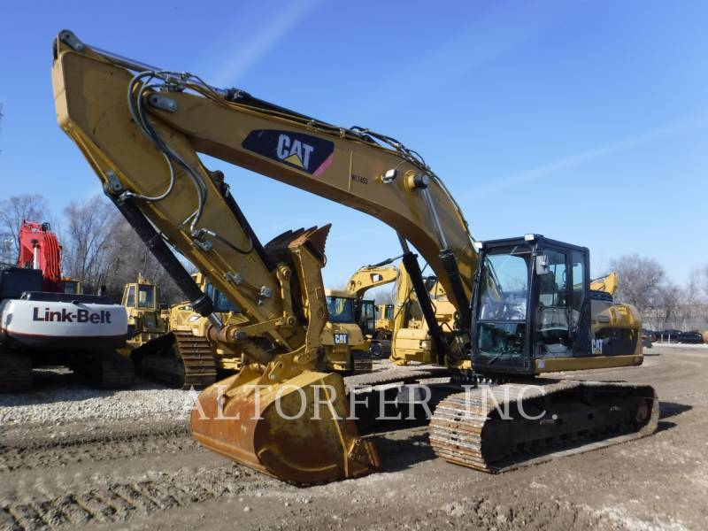 CATERPILLAR トラック油圧ショベル 329DL TH equipment  photo 1