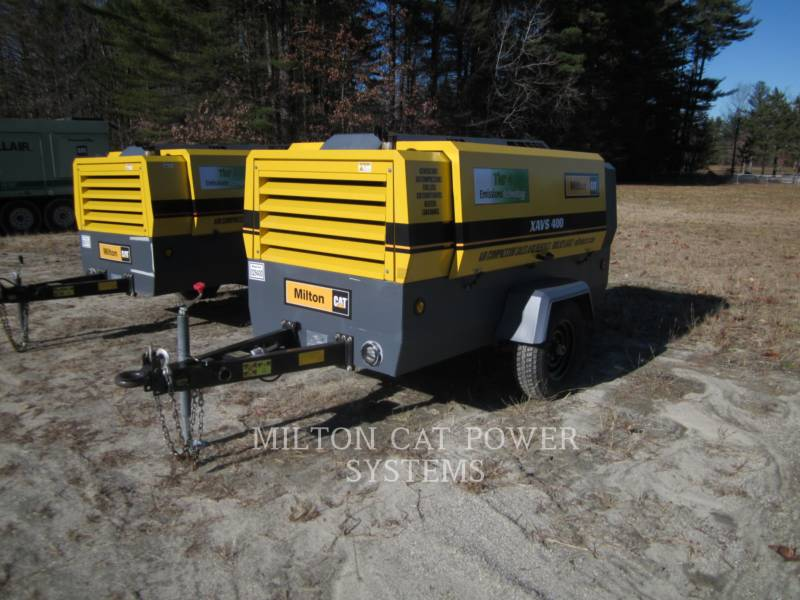 ATLAS-COPCO AIR COMPRESSOR XAVS400 equipment  photo 1