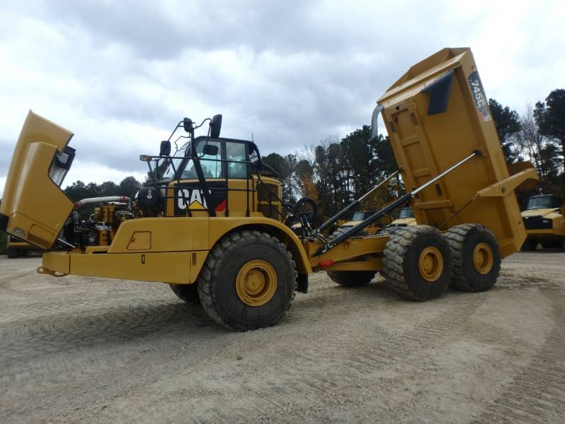 CATERPILLAR ARTICULATED TRUCKS 745C equipment  photo 9