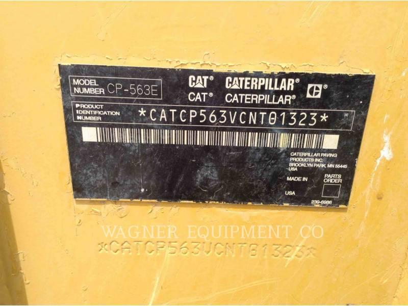 CATERPILLAR COMPACTADORES CP-563E equipment  photo 5