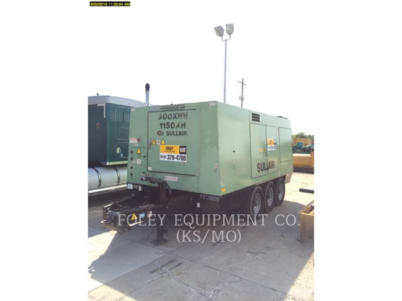 SULLAIR AIR COMPRESSOR 1150XHA900 equipment  photo 2