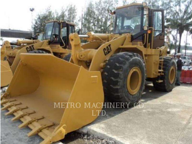 CATERPILLAR PÁ-CARREGADEIRAS DE RODAS/ PORTA-FERRAMENTAS INTEGRADO 950FII equipment  photo 1