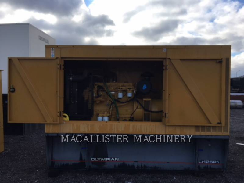 OLYMPIAN STATIONARY GENERATOR SETS D125P1 equipment  photo 1