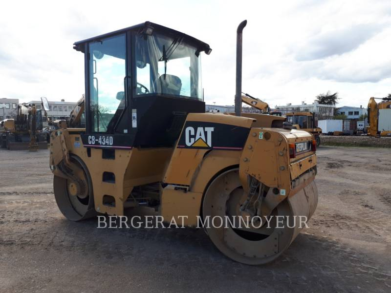 CATERPILLAR COMPACTEURS TANDEMS VIBRANTS CB-434D equipment  photo 4