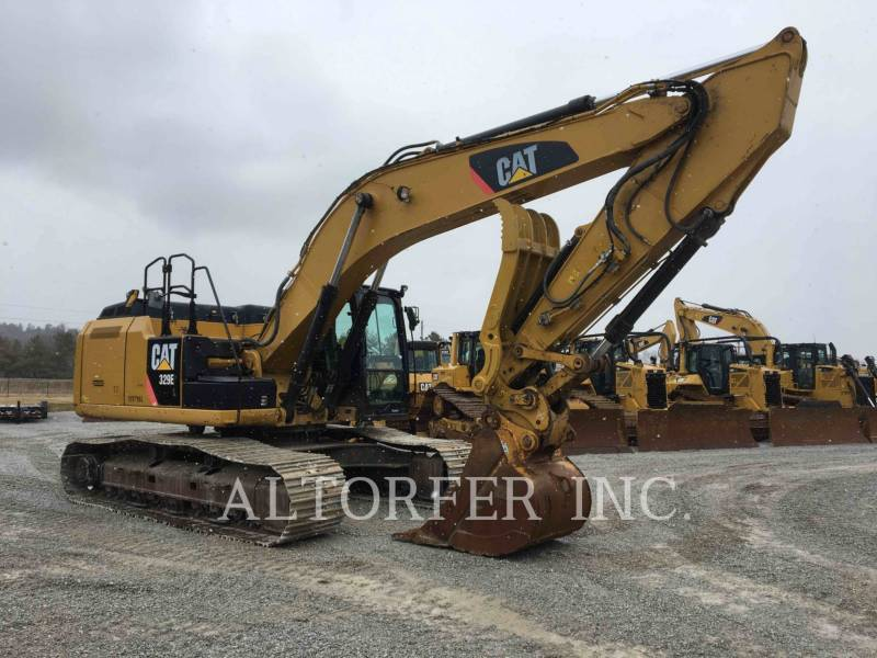 CATERPILLAR TRACK EXCAVATORS 329EL TH equipment  photo 2