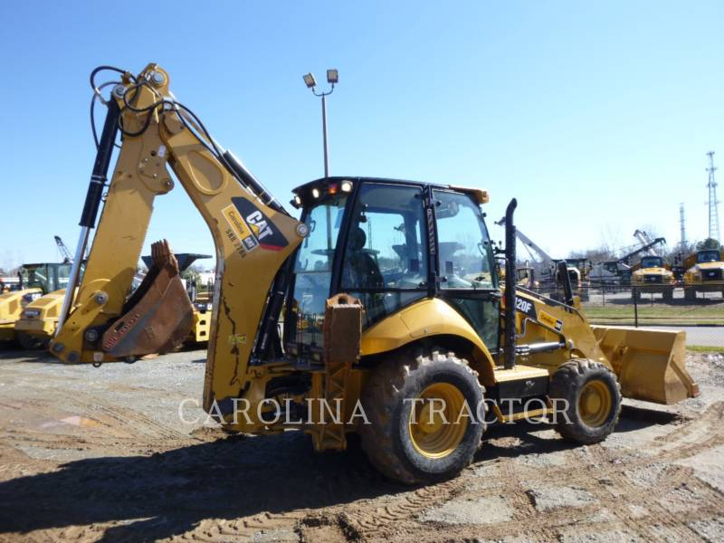 CATERPILLAR RETROESCAVADEIRAS 420F CB equipment  photo 6