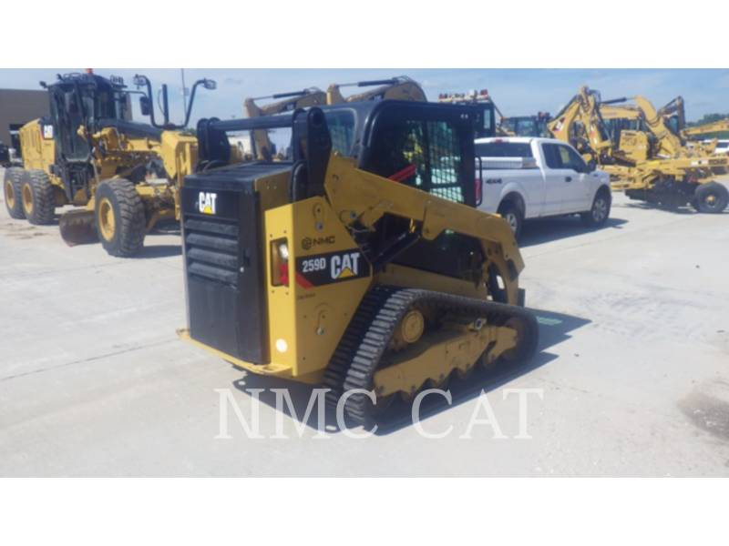CATERPILLAR CARREGADEIRAS TODO TERRENO 259D equipment  photo 3