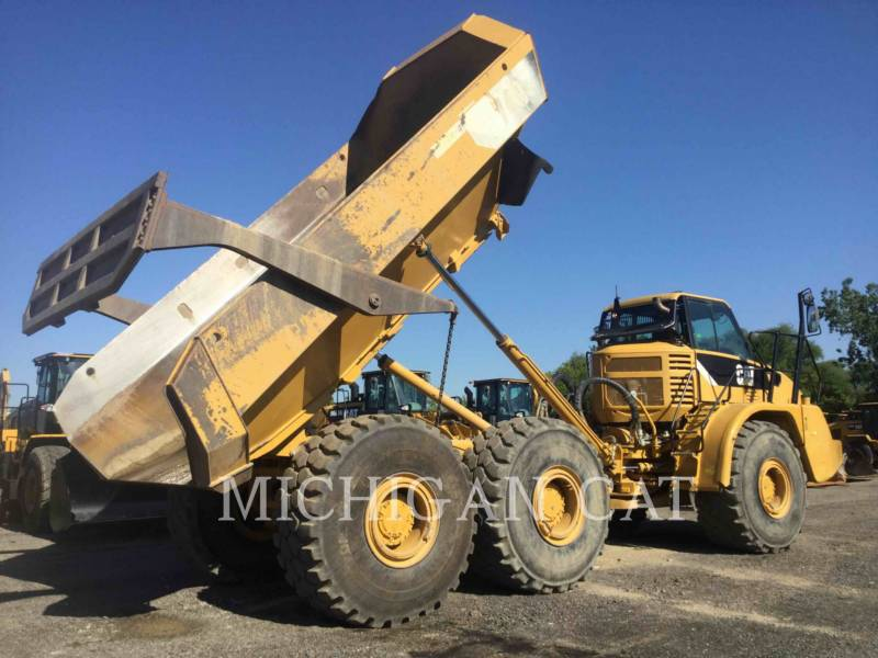 Caterpillar CAMIOANE ARTICULATE 740 T equipment  photo 4