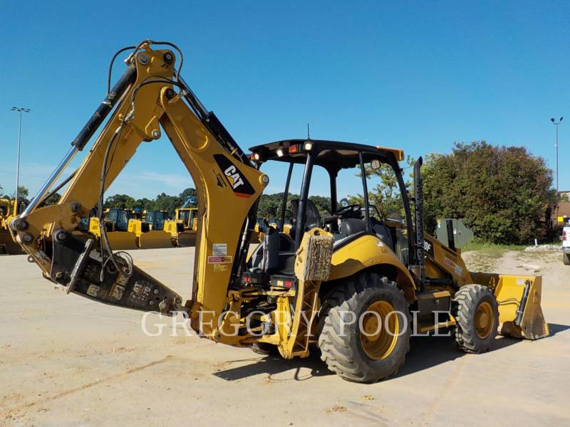 CATERPILLAR BACKHOE LOADERS 420F/HAM equipment  photo 9
