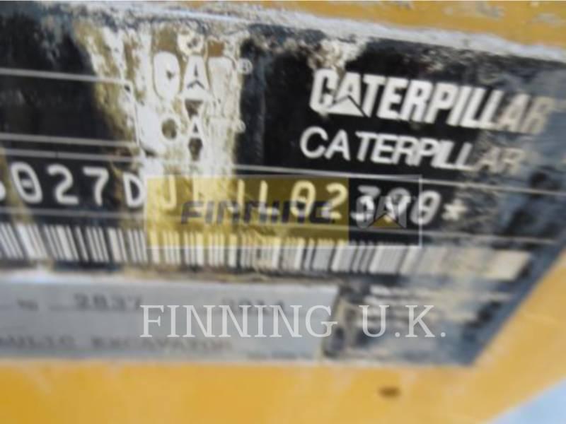 Caterpillar EXCAVATOARE PE ŞENILE 302.7DCR equipment  photo 2