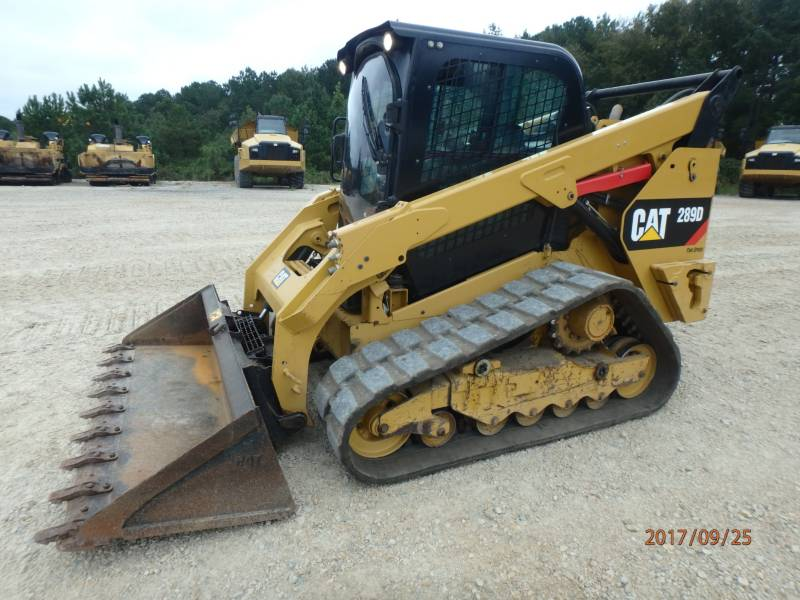 CATERPILLAR UNIWERSALNE ŁADOWARKI 289D equipment  photo 5