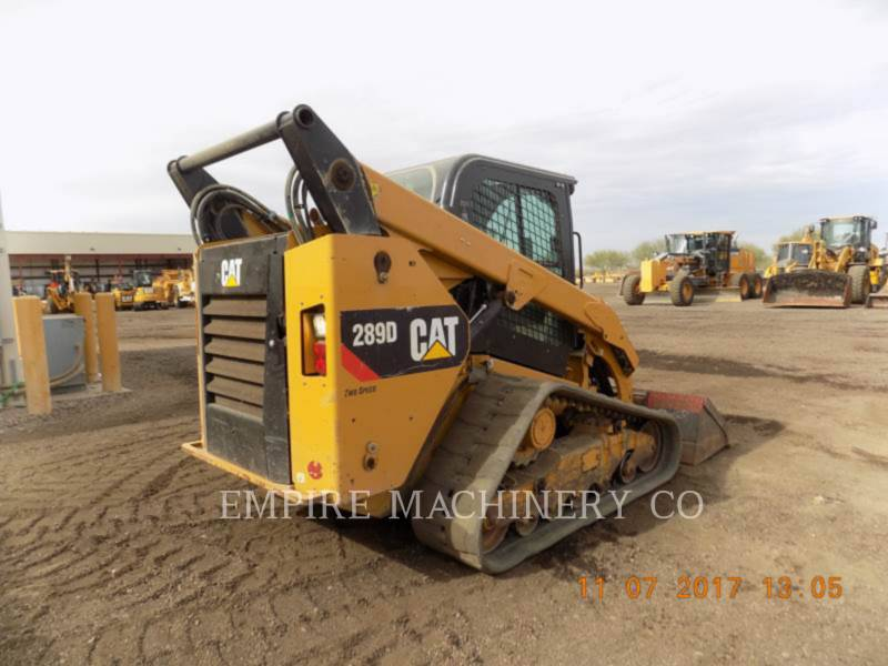 CATERPILLAR SKID STEER LOADERS 289D CA equipment  photo 3