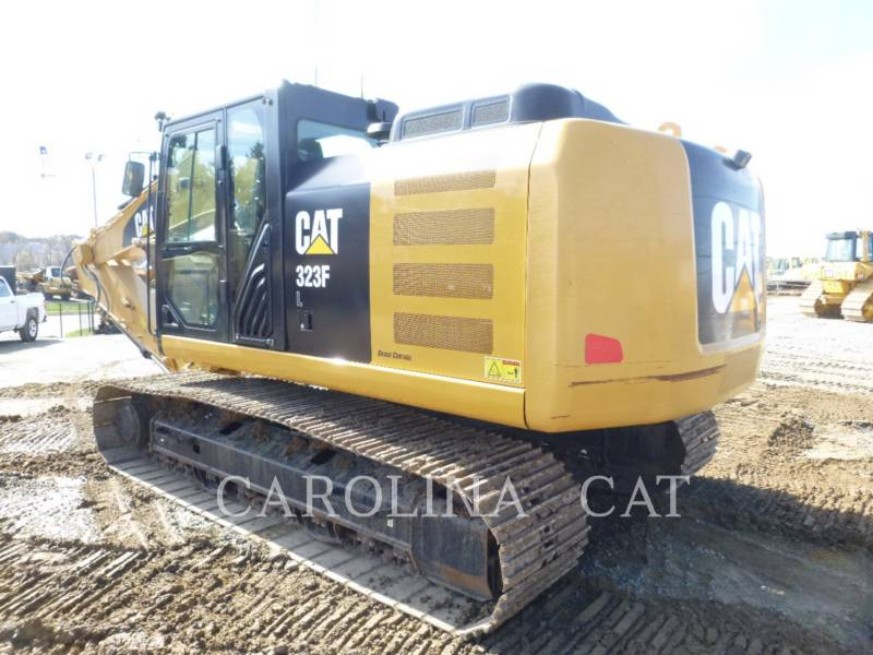 CATERPILLAR KOPARKI GĄSIENICOWE 323FL QC equipment  photo 6
