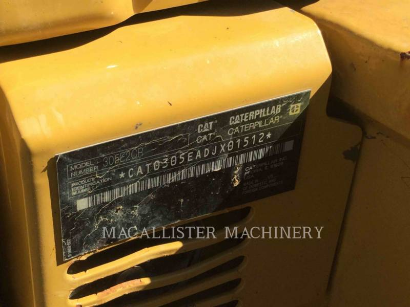 CATERPILLAR EXCAVADORAS DE CADENAS 305E equipment  photo 4