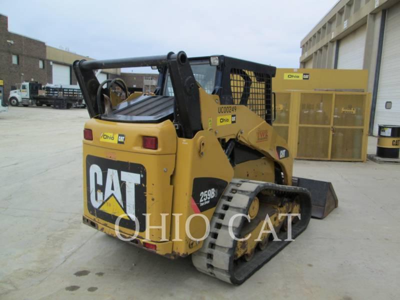 CATERPILLAR CARGADORES MULTITERRENO 259B3 C1 equipment  photo 4