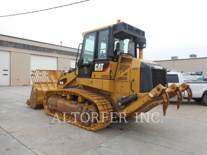 CATERPILLAR CARGADORES DE CADENAS 963D equipment  photo 4