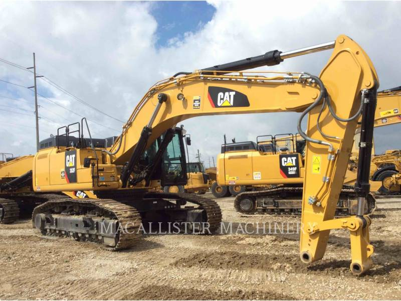 CATERPILLAR KOPARKI GĄSIENICOWE 352F equipment  photo 1