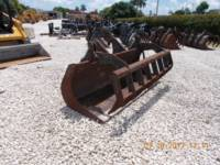 Equipment photo CATERPILLAR 1.1 CYD MULTI-GRAPPLE BUCKET FOR TELEHANDLER  BENNA A POLIPO 1
