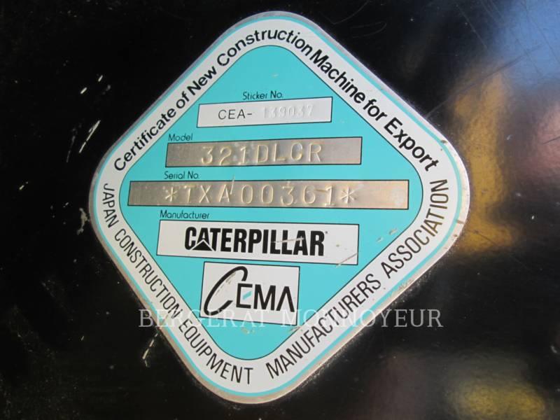 CATERPILLAR TRACK EXCAVATORS 321DLCR equipment  photo 16