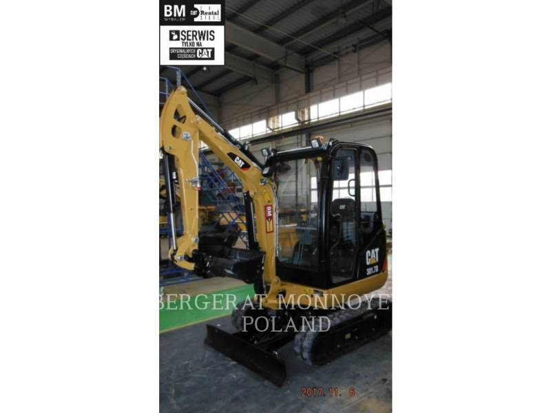 CATERPILLAR PELLES SUR CHAINES 301.7 D equipment  photo 1