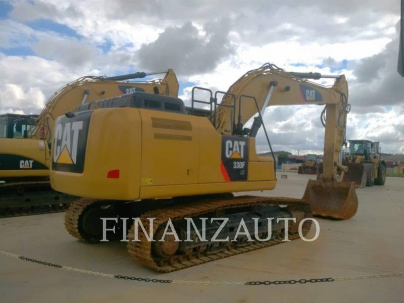 CATERPILLAR TRACK EXCAVATORS 330FLN equipment  photo 4