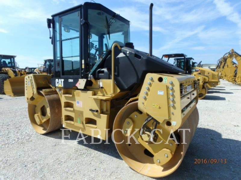 CATERPILLAR VIBRATORY DOUBLE DRUM ASPHALT CD54 equipment  photo 1