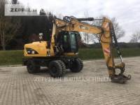 CATERPILLAR PELLES SUR PNEUS M316D equipment  photo 6