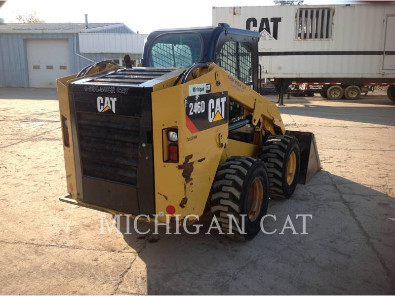 CATERPILLAR MINICARGADORAS 246D C2Q equipment  photo 4